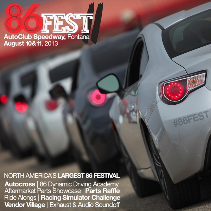 promo 86FEST II: North Americas LARGEST 86 Gathering