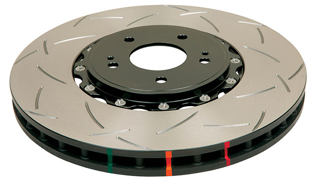 DBA USA 5000 Series Brake Rotors DBA52224BLKS_HERO-640