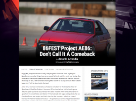 86FEST Project AE86 Updates on Speedhunters