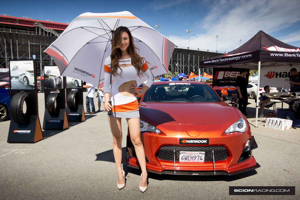 Sarah Top, Sarah Choi, Hankook Tire, Scion FRS, 86FEST